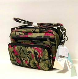 LUG Kickflip Convertible Wallet Wristlet/Cross Body Purple/C