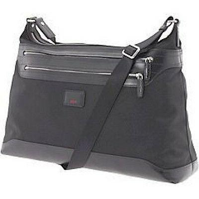 24116 townhouse crossbody messenger laptop bag leather