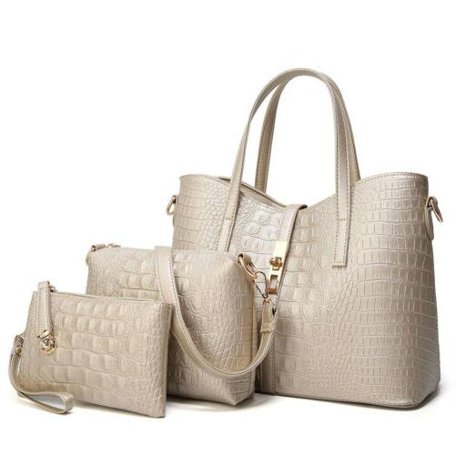 Women's Pu Tote Purse Handbags Shoulder