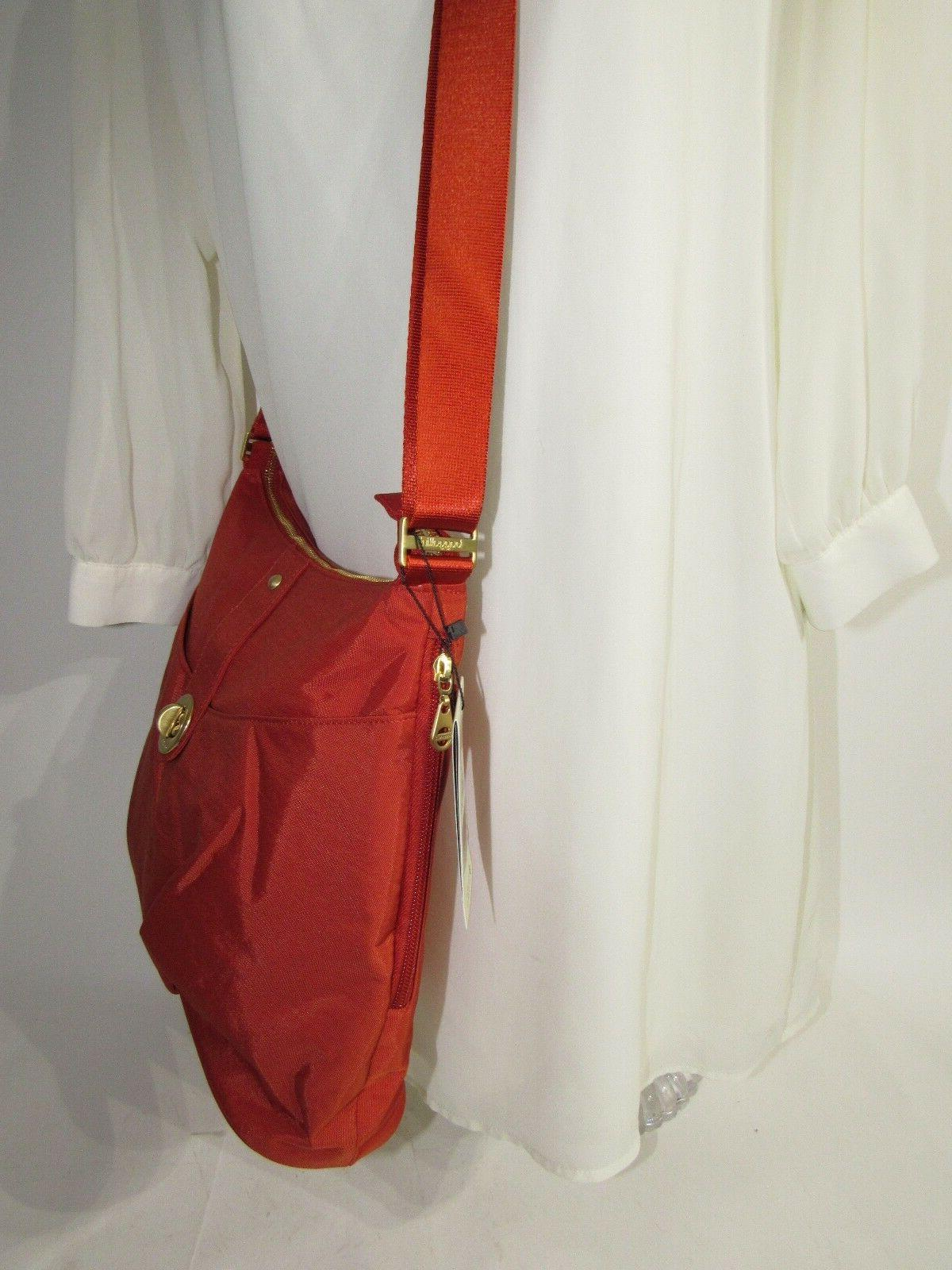 Baggallini Crossbody Shoulder Bag Water-resistant Wrislet