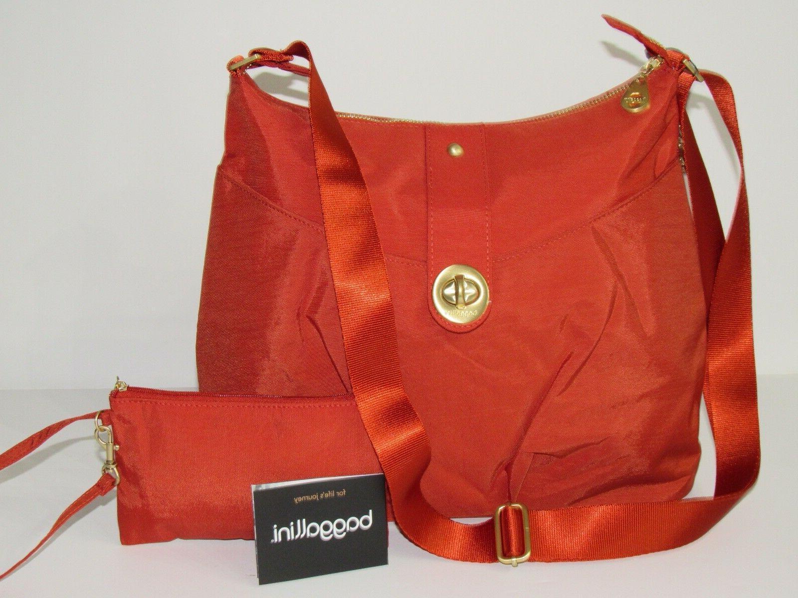 Baggallini Helsinki Crossbody Shoulder Bag Water-resistant N
