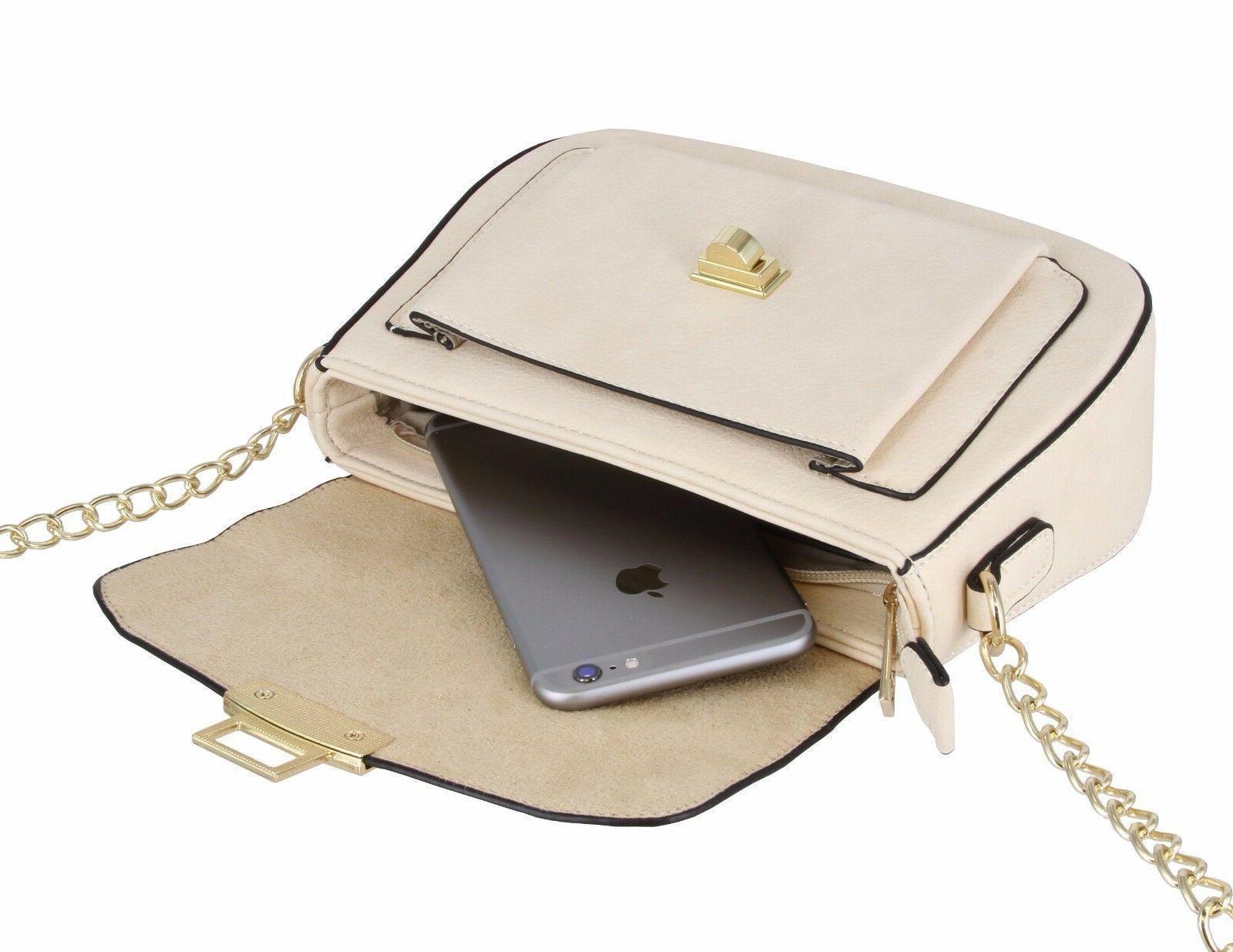 Alyssa Flap Cross-Body Bag Purse