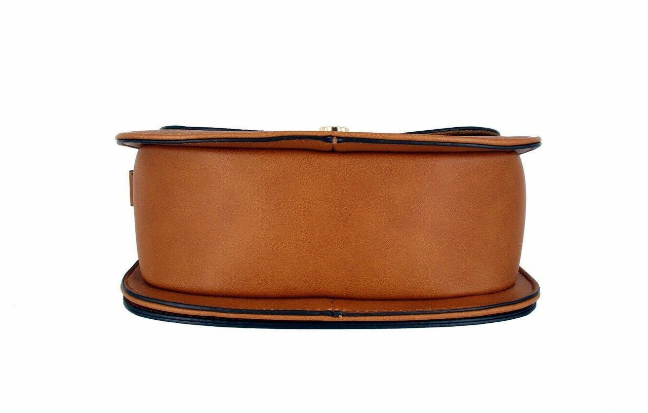 Alyssa Fashion Saddle Bag Purse