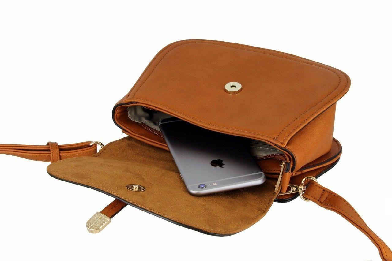 Saddle Purse Handbag