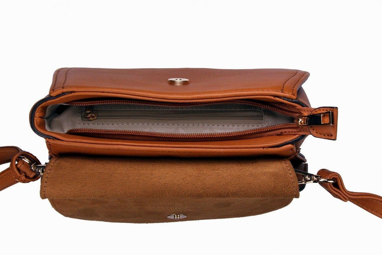 Alyssa Fashion Saddle Bag Cross Body Purse