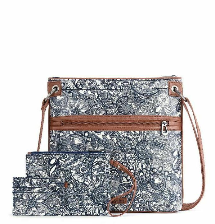 artist circle trip crossbody bag womens purse