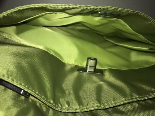 BAGGALLINI Green Helsinki Crossbody Sling Travel Bag