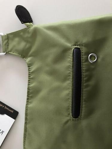 BAGGALLINI Green Turnlock Bag