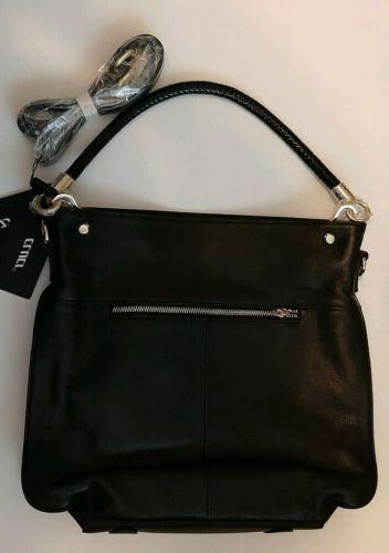 Cluci Black Purse Tote Crossbody Bag NWT