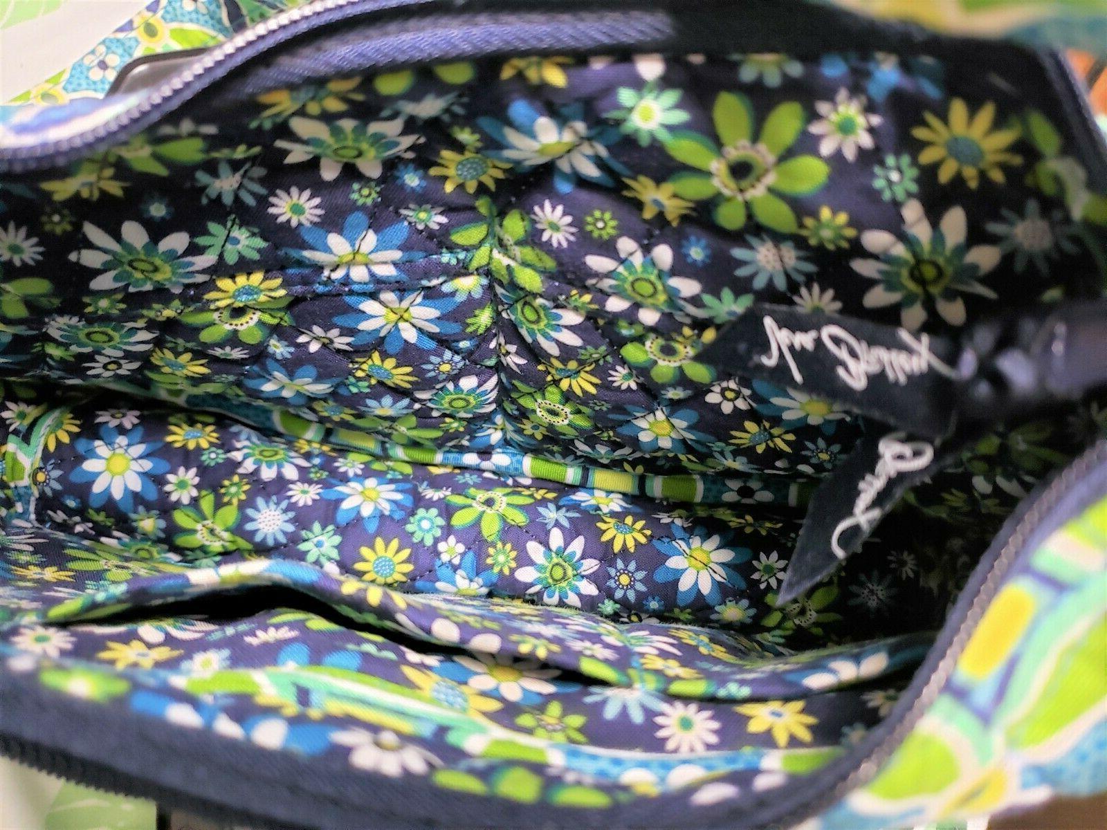Vera Bradley Green Bag and Shoulder bag - New