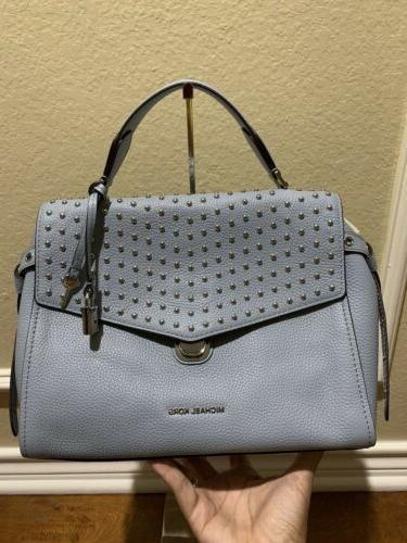 bristol studded satchel purse handbag 368 bright
