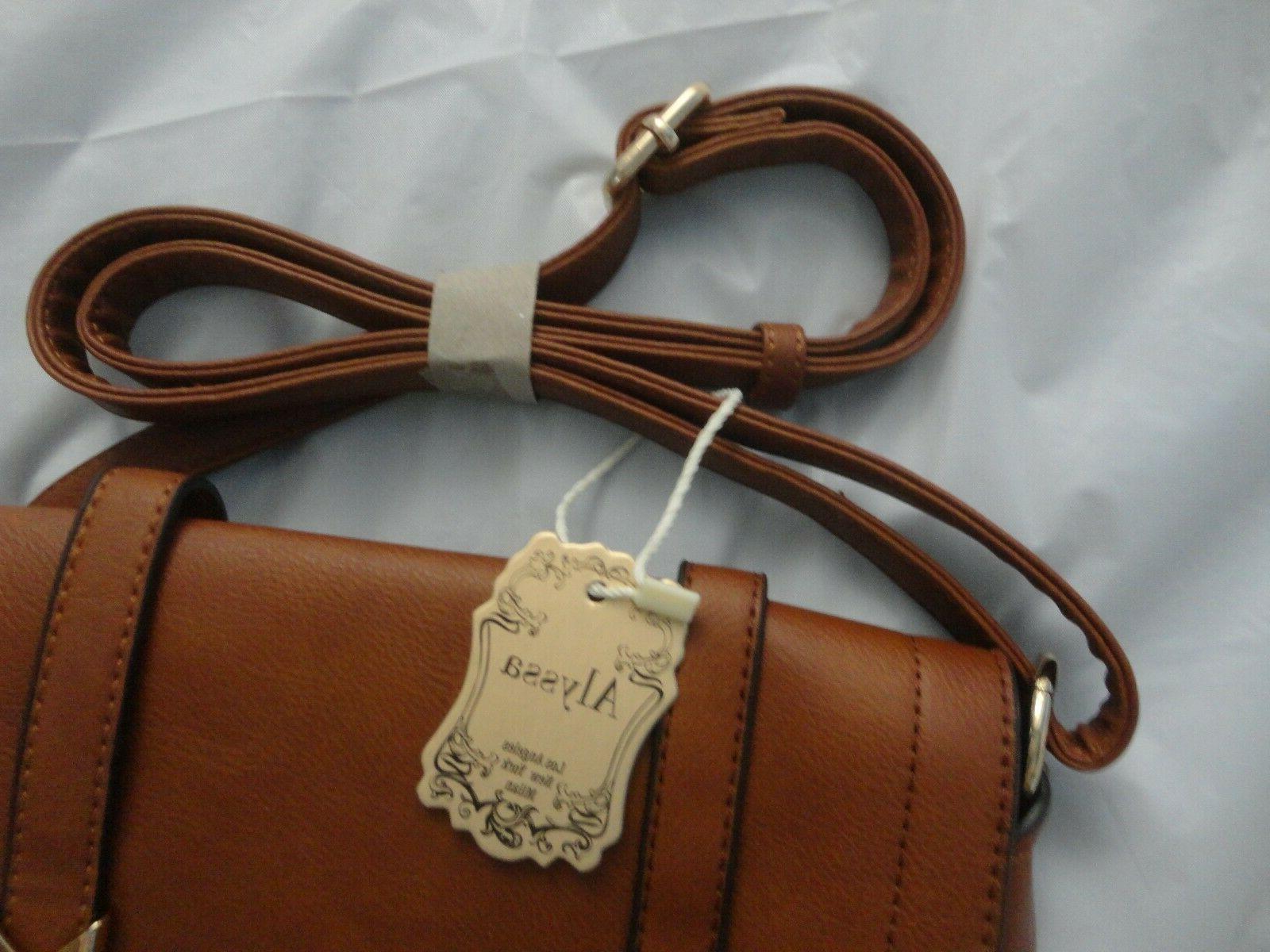 Alyssa -Brown Compartment, Bag,
