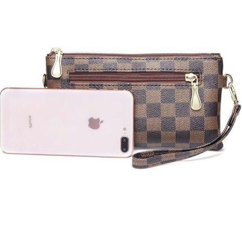 Checkered Cross Body Bag For Women Brand Bag Luxury