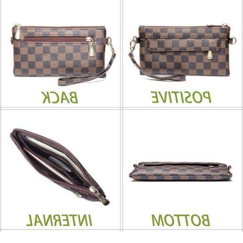 Checkered Cross Bag For Women