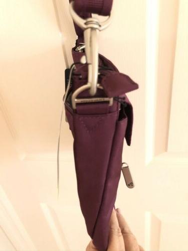Travelon Anti Theft Bag, Plum NWT