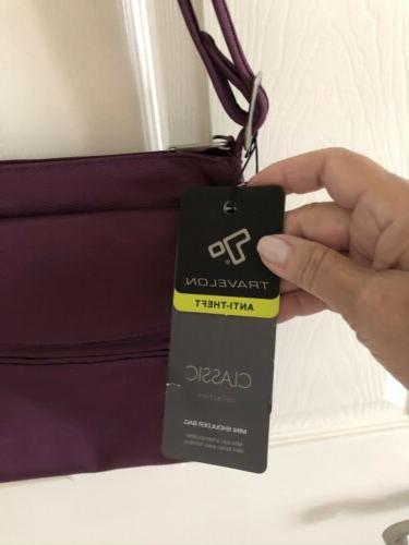 Travelon Anti Theft Bag, NWT