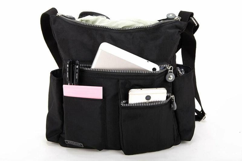 Nodykka Crossbody for Women Shoulder Travel Purse Nylon Messenger