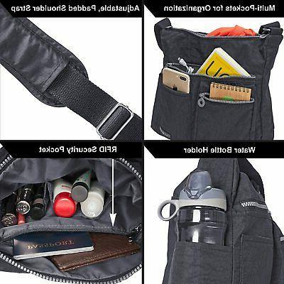 NeatPack Crossbody Bag for Women Theft RFID Pocket