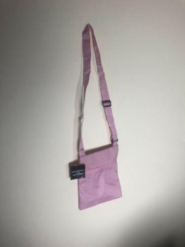 crossbody bag polyester pink 8 x 9