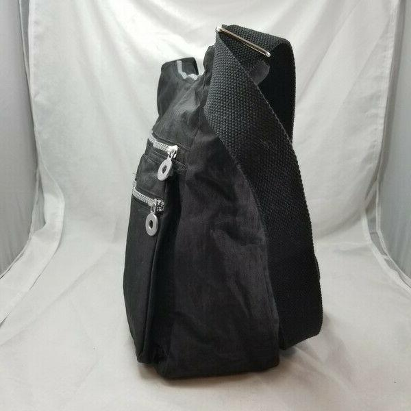 NeatPack Crossbody Bag Purse Anti Nylon Black