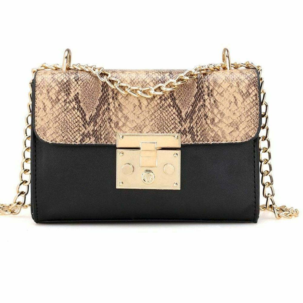 Crossbody Chain Bags For Women Stylish Travel Shoulder Leath