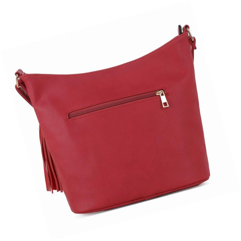 DELUXITY | Crossbody Slouch Purse | Pocket with