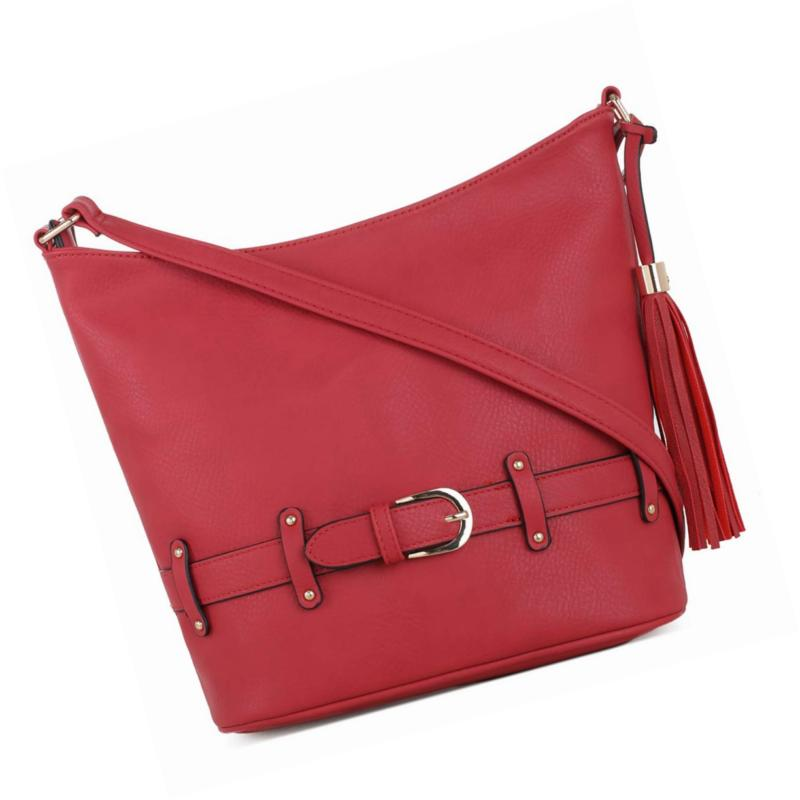 crossbody hobo slouch bucket purse bag functional