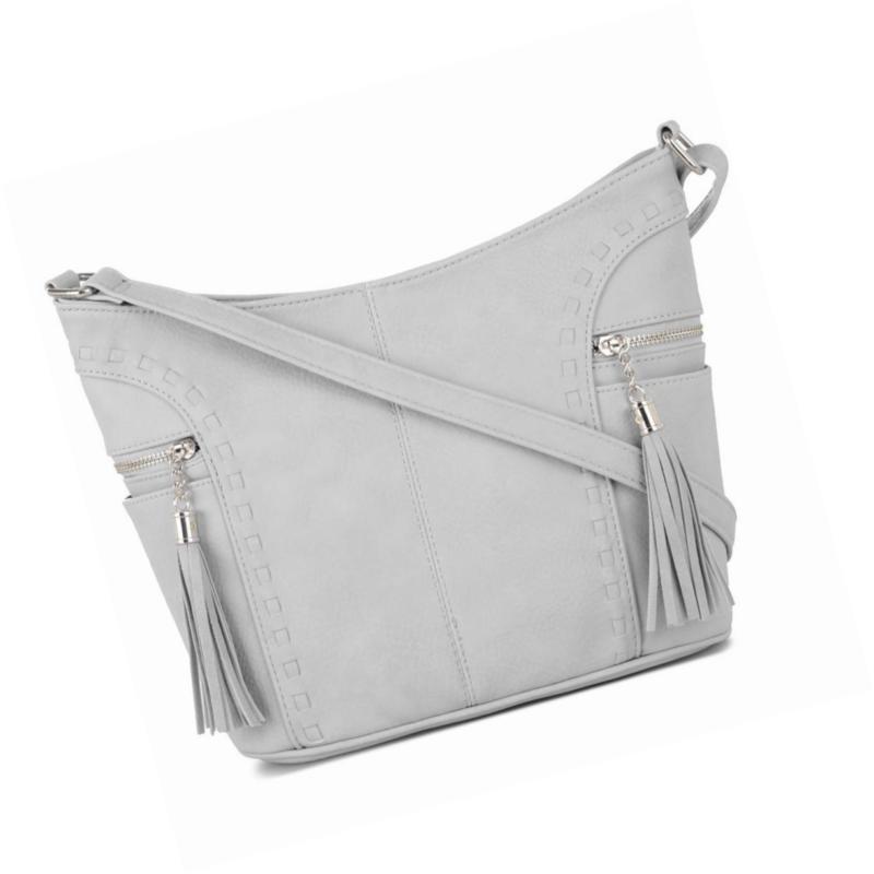 crossbody hobo slouch bucket purse bag side