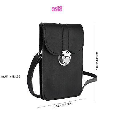 Touch Screen Mini Wallet Crossbody Shoulder Bag Case Pouch