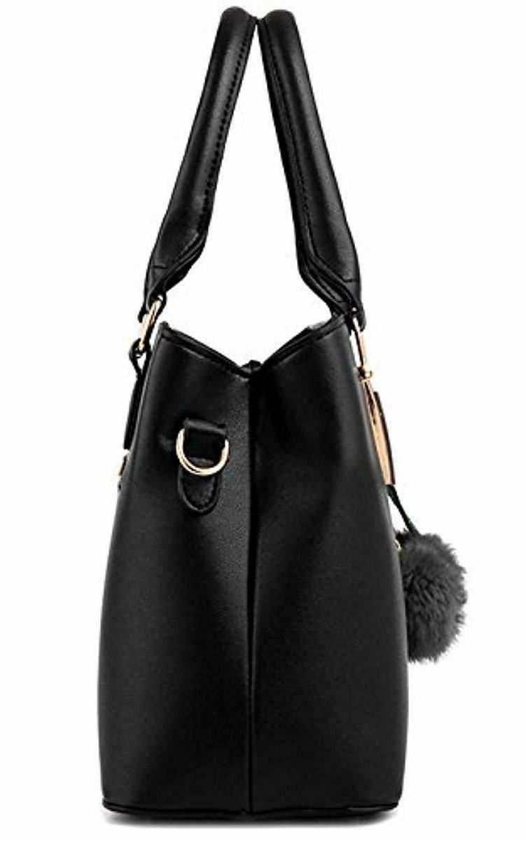 Dreubea Leather Tote Shoulder Bag Crossbody Purse