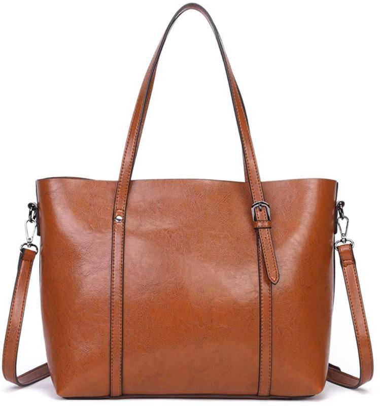 Dreubea Soft Handbag Big Shoulder