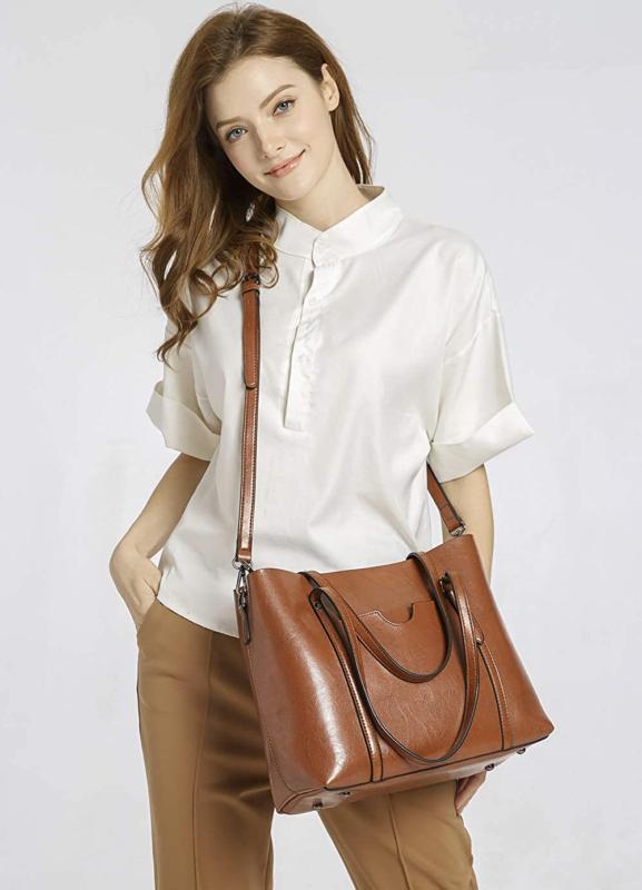 Dreubea Women's Handbag Big Shoulder Crossbody