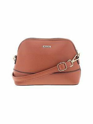 elim and paul women brown crossbody bag