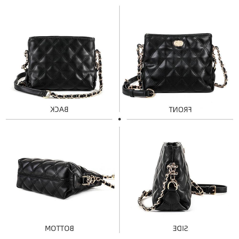 Fashion Quilted Chain Bag Women Purse Bag