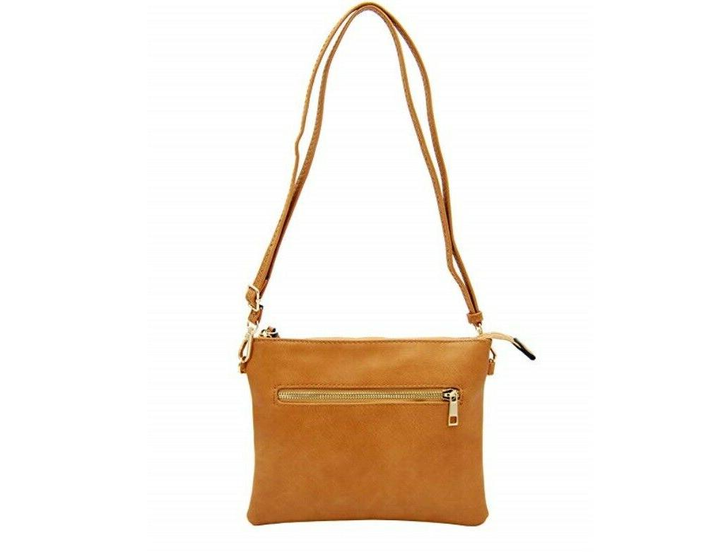 Isabelle Isabelle Functional Crossbody Shoulder Bag Light Tan