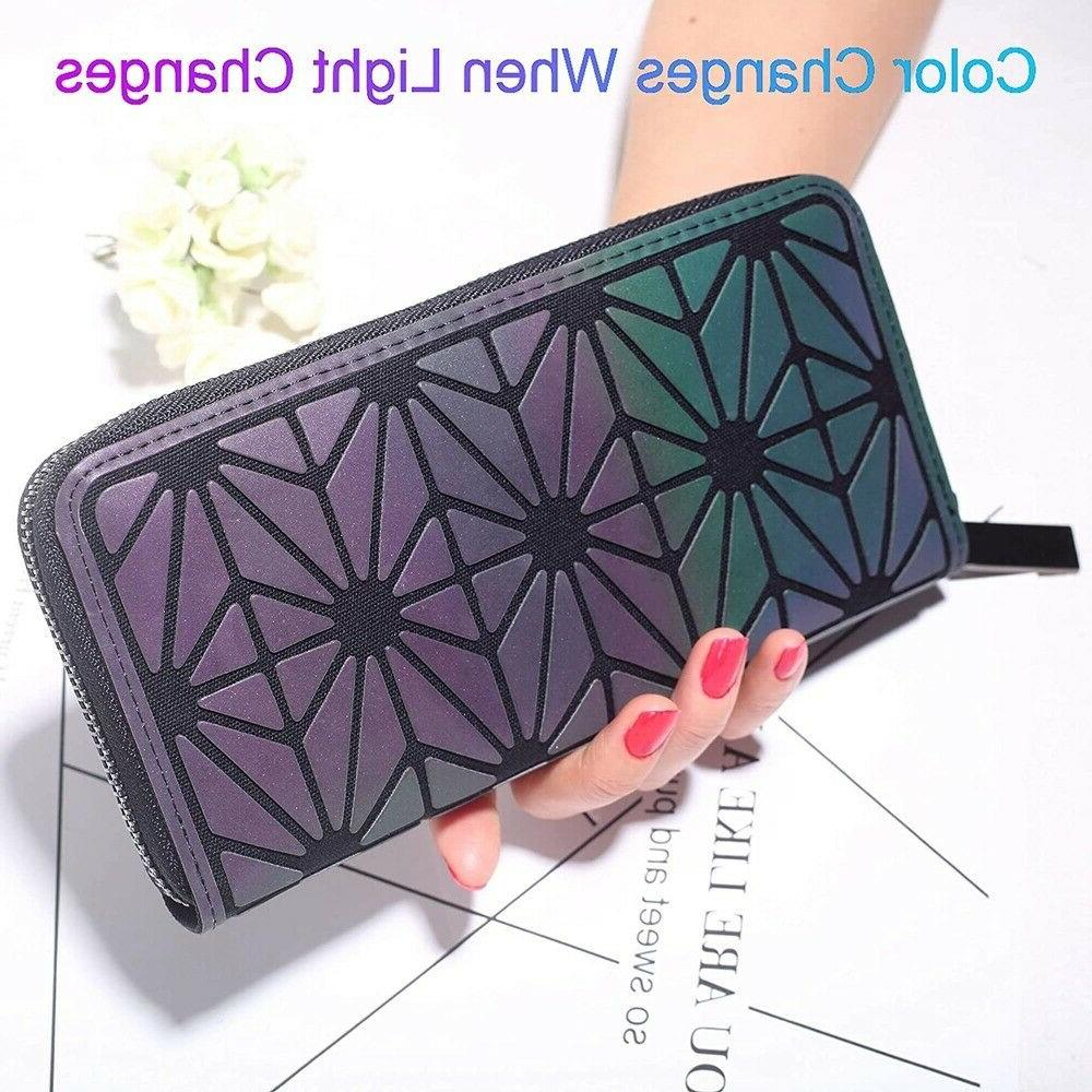 ×Geometric Women Tote Holographich Purses and Crossbody