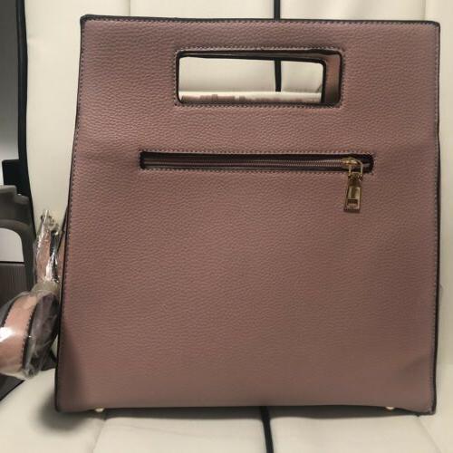 Deluxity Handbag Chic Handle Shoulder Bag NWT