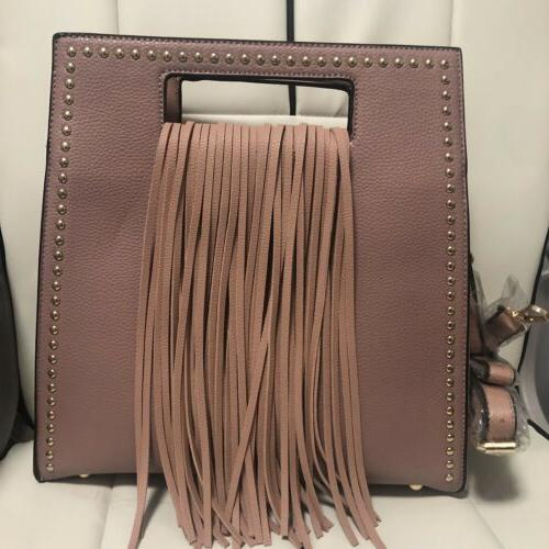 handbag chic rectangle handle shoulder bag tote