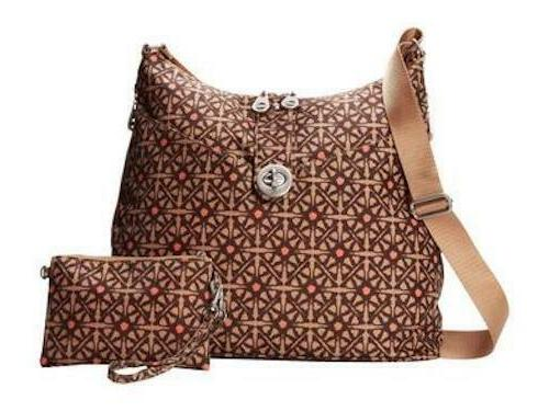 helsinki safari print crossbody bag nwt