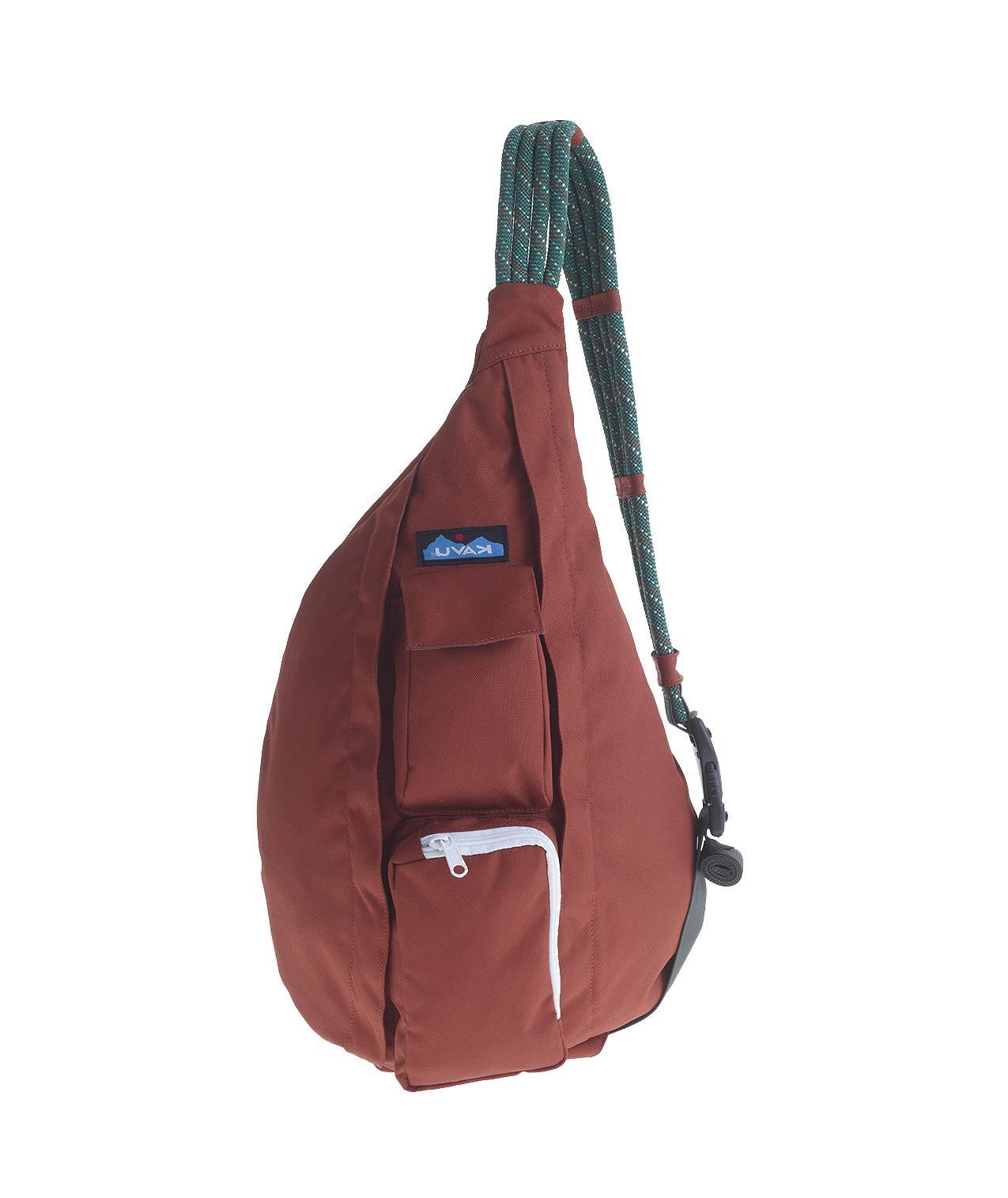 kavu rope sling bag polyester body shoulder