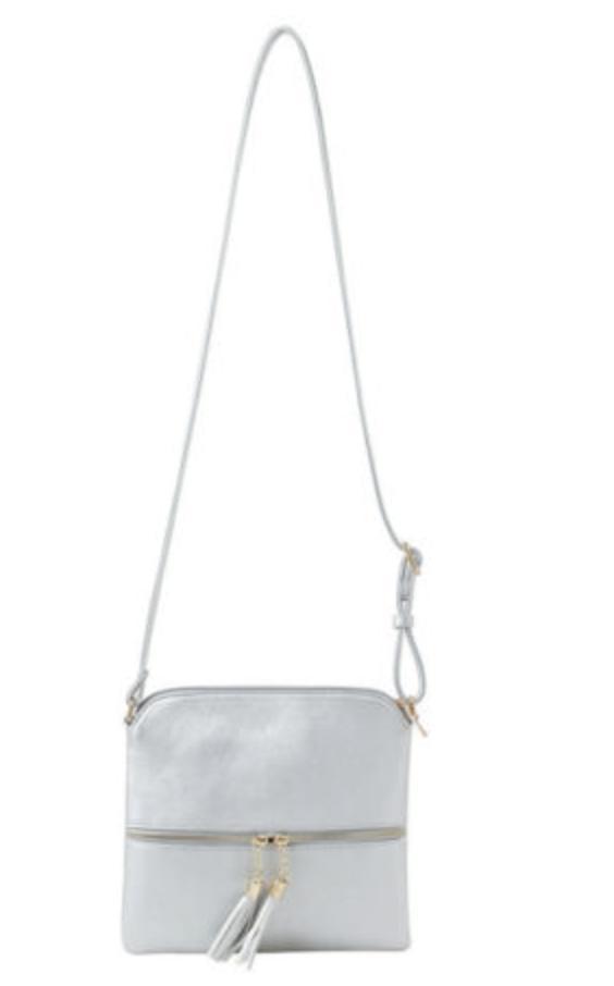 DELUXITY Lightweight Medium Bag Zipper Pocket