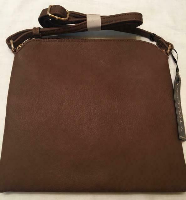 DELUXITY Lightweight Medium Bag Tassels Faux