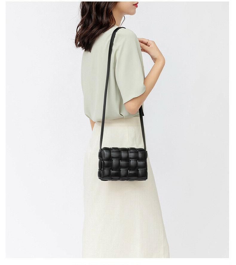 Luxury Checkered Crossbody Bag For Women Strap Cassette