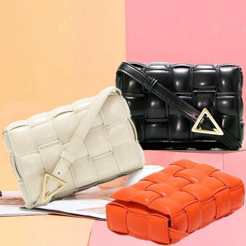 luxury checkered crossbody bag for women clutch