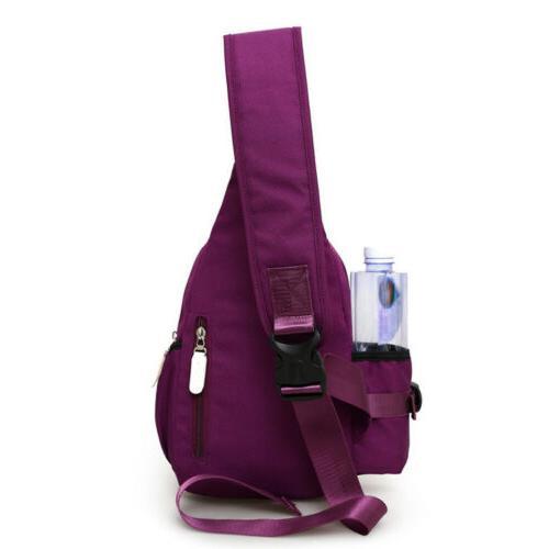 Men Nylon Crossbody Shoulder Chest Bag