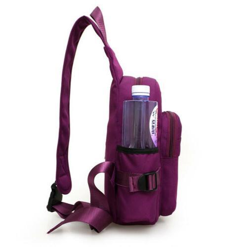 Men Nylon Shoulder Sling Bag Backpack