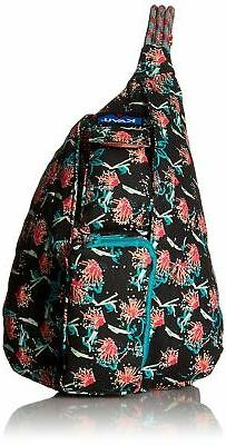 KAVU Mini Rope Bag Crossbody Shoulder Cotton Backpack