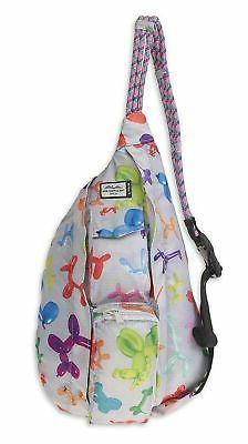 KAVU Mini Rope Pack Sling Bag Crossbody Polyester Backpack -