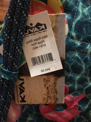 KAVU Rope Sling Bag Crossbody Shoulder Backpack - Float