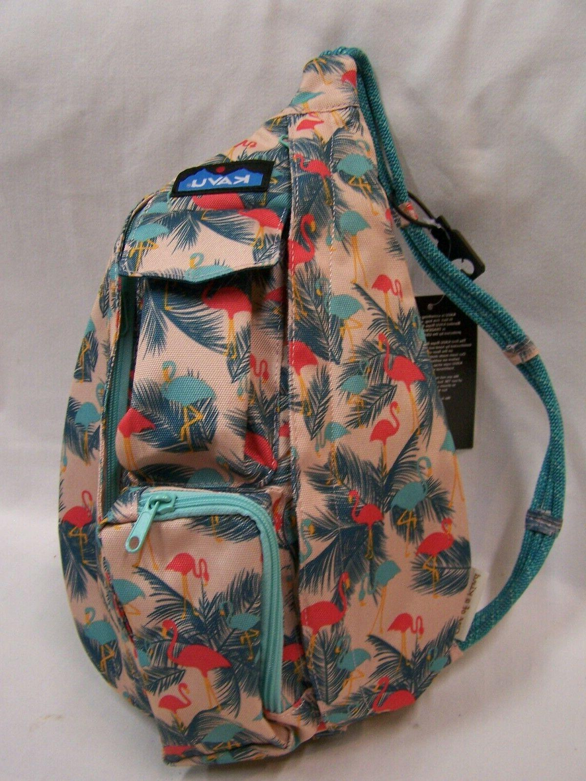 mini rope sling bag polyester crossbody shoulder